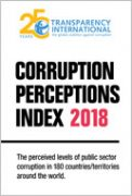 Global Corruption Perception Index (CPI) 2018