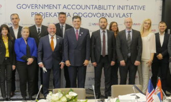 Assistant Administrator of USAID for Europe and Eurasia at the Workshop with Officials of Seven Partner Local Governments