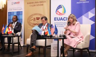USAID Facilitates International Best Practice Exchange for Newly Created Corruption Courts