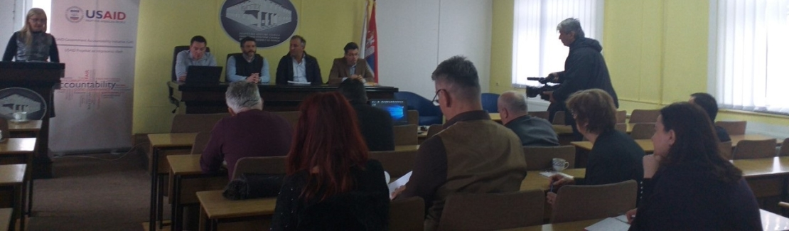 Roundtables in the Municipalities of Sjenica and Raska on the Draft Revised Local Anticorruption Plan