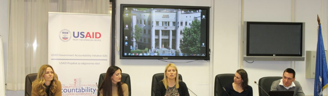 USAID GAI Supports Faculty of Law, University of Belgrade in Implementation of the Anti-Corruption Legal Clinic Program