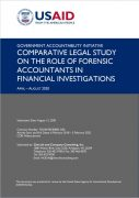 Comparative Legal Study on the Role of Forensic Accountants in Financial Investigations